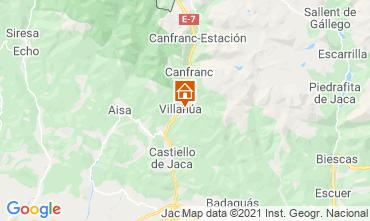 Mapa Jaca Apartamento 70811