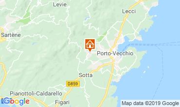 Mapa Porto Vecchio Apartamento 117888