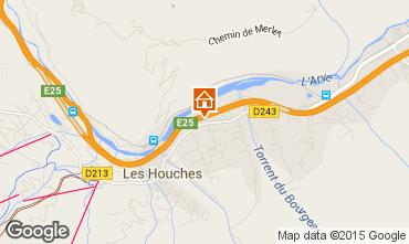 Mapa Les Houches Apartamento 14497
