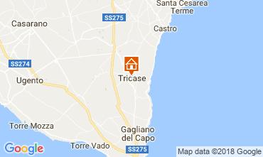 Mapa Santa Maria di Leuca Apartamento 55406