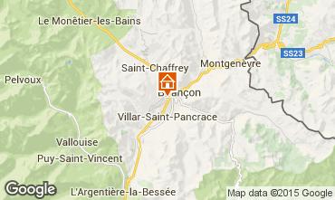 Mapa Brian�on Chalet 495