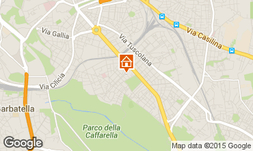 Mapa Roma Apartamento 69902