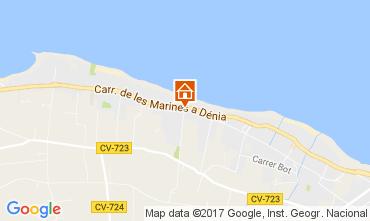 Mapa Denia Bungalow 108044