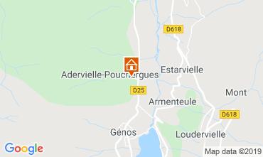 Mapa Loudenvielle Casa 74749
