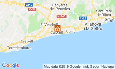 Mapa Calafell Apartamento 117976
