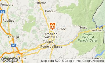 Mapa Arcos de Valdevez Villa 48914