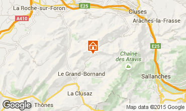 Mapa Le Grand Bornand Chalet 1390