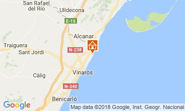 Mapa Vinaroz Villa 53548
