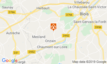 Mapa Blois Mobil home 117941