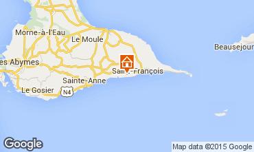 Mapa Saint Francois Villa 101259
