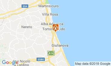 Mapa Tortoreto Apartamento 94099