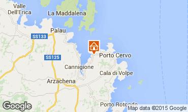 Mapa Porto Cervo Apartamento 29162