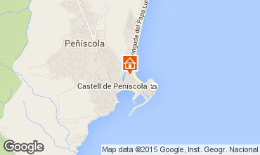 Mapa Peñíscola Apartamento 95413