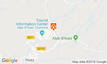 Mapa Alpe d'Huez Estudio 116847