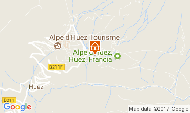 Mapa Alpe d'Huez Apartamento 111769