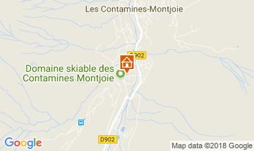 Mapa Les Contamines Montjoie Apartamento 115234