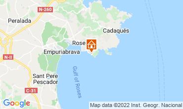 Mapa Rosas Apartamento 72156