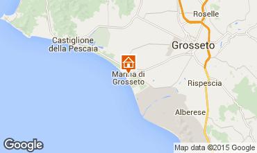 Mapa Marina di Grosseto Apartamento 91947