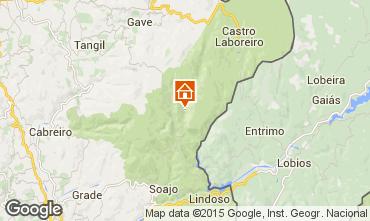 Mapa Arcos de Valdevez Casa rural 62079