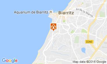 Mapa Biarritz Apartamento 106722