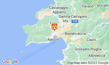 Mapa Ajaccio Apartamento 107850
