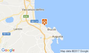 Mapa Brucoli Apartamento 22489