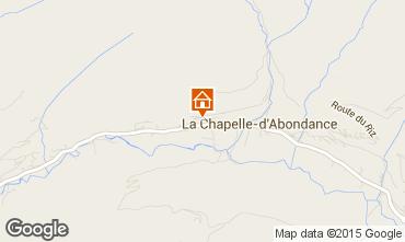 Mapa La Chapelle d'Abondance Chalet 94027