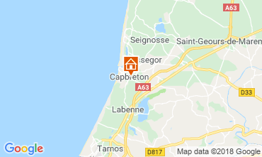 Mapa Capbreton Casa 117113