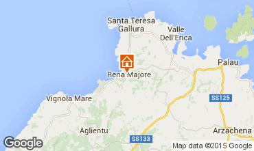 Mapa Santa Teresa di Gallura Villa 99078