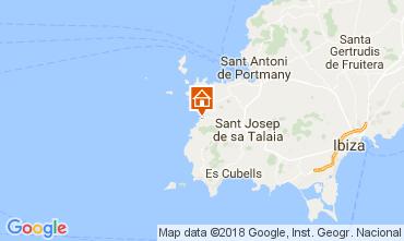 Mapa Cala Vadella Villa 112785