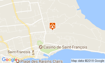 Mapa Saint Francois Casa rural 16331