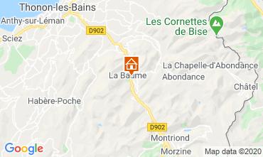 Mapa Saint Jean d'Aulps- La Grande Terche Chalet 517
