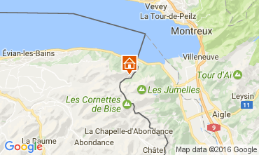 Mapa Evian les Bains Casa 84422