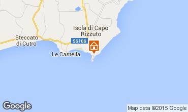 Mapa Isola di Capo Rizzuto Apartamento 86613