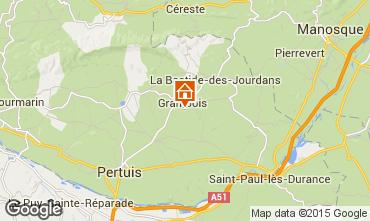 Mapa La Tour d'Aigues Villa 88824