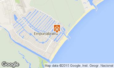 Mapa Ampuriabrava Apartamento 41310