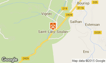 Mapa Saint Lary Soulan Estudio 65664