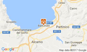 Mapa Balestrate Apartamento 73995