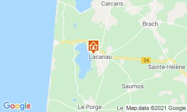 Mapa Lacanau Casa 6715