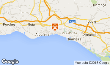 Mapa Albufeira Villa 57069