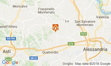 Mapa Alessandria Apartamento 115176
