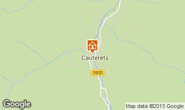 Mapa Cauterets Apartamento 4095