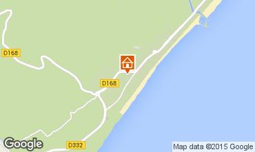 Mapa Narbonne Apartamento 9180