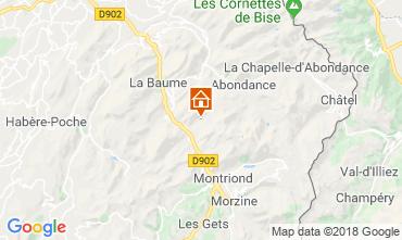 Mapa Morzine Chalet 116537