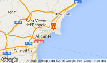 Mapa Alicante Apartamento 97347
