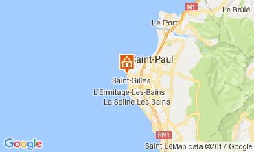 Mapa Saint Gilles Villa 9874