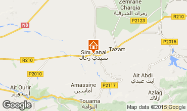 Mapa Casablanca Villa 33283