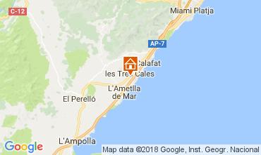 Mapa La Ametlla de Mar Villa 113378