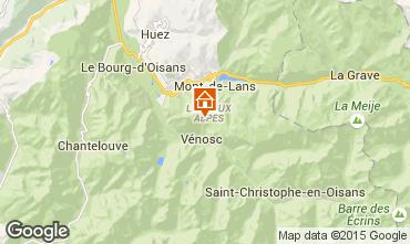 Mapa Les 2 Alpes Apartamento 49916