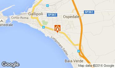 Mapa Gallipoli Apartamento 97119